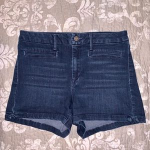 Jessica Simpson Up-town High-rise Denim Shorts